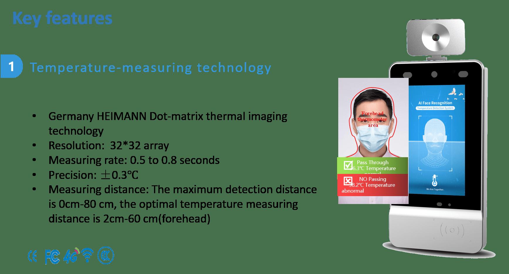 Temperature measuring